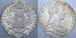 reverse: AUSTRIA TALLERO DI CONVENZIONE IN AG. LOTTO 2 MONETE VARIE CONSERVAZIONI