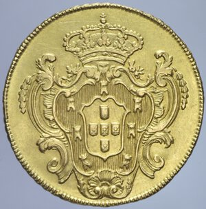 reverse: BRASILE MARIA I 6400 REIS 1792 AU. 14,28 GR. BB-SPL