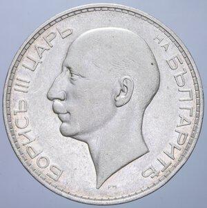 obverse: BULGARIA BORIS III 100 LEVA 1937 AG. 19,91 GR. BB+