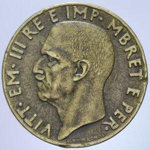 VITTORIO EMANUELE III ALBANIA (1939-1943) 0,10 LEK 1941 R 4,78 GR. BB+/BB-SPL