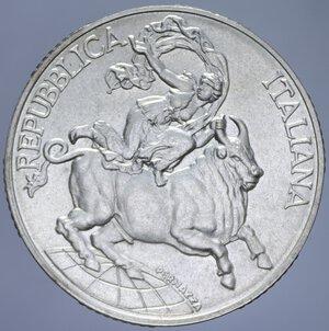 obverse: 10000 LIRE 1995 CONFERENZA DI MESSINA AG. 22 GR. FDC