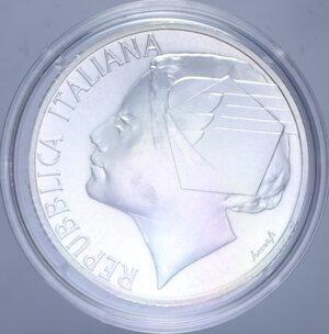 obverse: 10000 LIRE 1998 MONDIALI DI CALCIO FRANCIA  98 AG. 22 GR. IN COFANETTO FDC