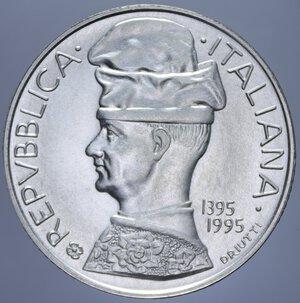 obverse: 5000 LIRE 1995 PISANELLO AG. 18 GR. FDC