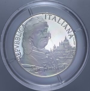 obverse: 5000 LIRE 1997 CANALETTO NC AG. 18 GR. IN COFANETTO PROOF