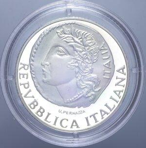 obverse: 2000 LIRE 1999 MUSEO NAZIONALE ROMANO NC AG. 16 GR. IN COFANETTO PROOF