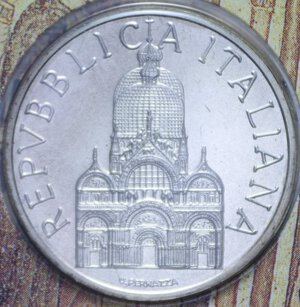obverse: 1000 LIRE 1994 ANNO MARCIANO IN VENEZIA AG. 14,6 GR. IN FOLDER FDC