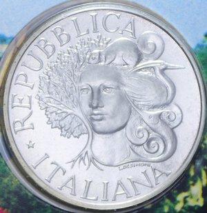 obverse: 1000 LIRE 1994 FLORA E FAUNA DA SALVARE AG. 14,6 GR. IN FOLDER FDC