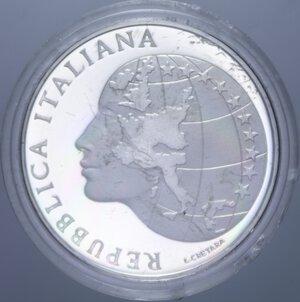 obverse: 500 LIRE 1985 PRESIDENZA ITALIANA CEE NC AG. 11 GR. IN COFANETTO PROOF