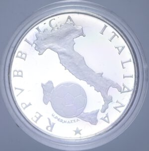 obverse: 500 LIRE 1986 MESSICO  86 NC AG. 11 GR. IN COFANETTO PROOF