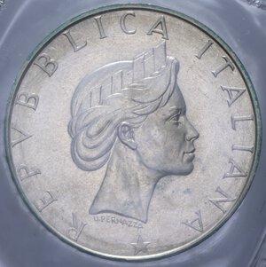 obverse: 500 LIRE 1986 PACE AG. 11 GR. IN FOLDER FDC