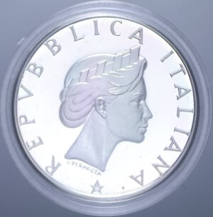obverse: 500 LIRE 1986 PACE NC AG. 11 GR. IN COFANETTO PROOF