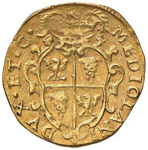 reverse: MILANO. Filippo IV di Spagna (1621-1665)