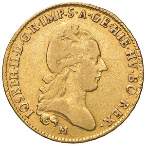 obverse: MILANO. Giuseppe II d'Asburgo-Lorena (1780-1790)