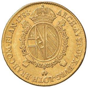 reverse: MILANO. Giuseppe II d'Asburgo-Lorena (1780-1790)