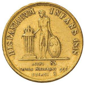 reverse: NAPOLI. Ferdinando I di Borbone (1816-1825)