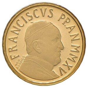 obverse: ROMA. Vaticano. Papa Francesco (dal 2013)