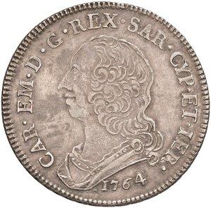 obverse: SAVOIA. Carlo Emanuele III (1730-1773)