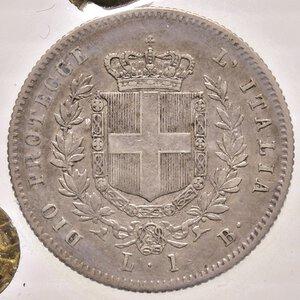 reverse: SAVOIA. Vittorio Emanuele II, Re Eletto (1859-1861)