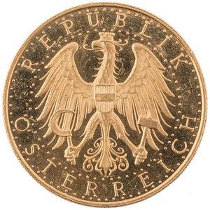 obverse: AUSTRIA. Repubblica