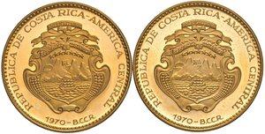 obverse: COSTA RICA. Repubblica