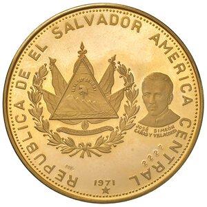 obverse: EL SALVADOR. Repubblica