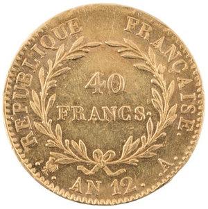 reverse: FRANCIA. Napoleone, Primo Console (1799-1804)