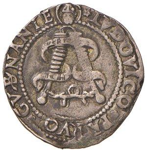 reverse: MILANO. Gian Galeazzo Maria Sforza e Ludovico Maria Sforza (1480-1494)