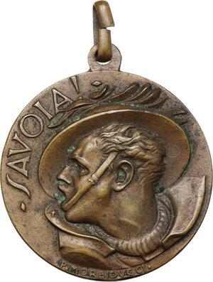 obverse: Medaglia per l adunata nazionale dei bersaglieri a Bologna, 28-29 giugno 1931, A. IX