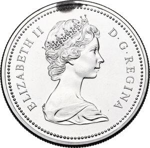 obverse: Canada.  Elizabeth II (1952 -). Dollar 1976