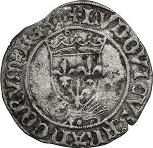 obverse: France.  Louis XII (1498-1515). Douzain au porc-épic, Lyon