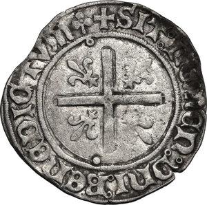 reverse: France.  Louis XII (1498-1515). Douzain au porc-épic, Lyon