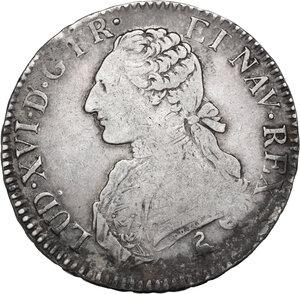 obverse: France.  Louis XVI (1774-1793).. Ecu 1789 A, Paris mint