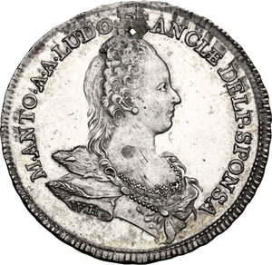 obverse: France.  Marie Antoniette (1755-1793).. Token 1770. Commemorating The Marriage of Marie Antoniette with   Louis the Dauphin of France