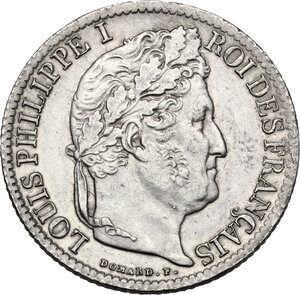 obverse: France.  Louis Philippe I (1830-1848). . 1/2 Franc 1834 Paris
