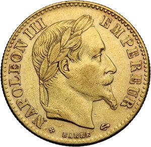 obverse: France.  Napoleon III (1852-1870).. 10 Francs 1862 BB Strasbourg