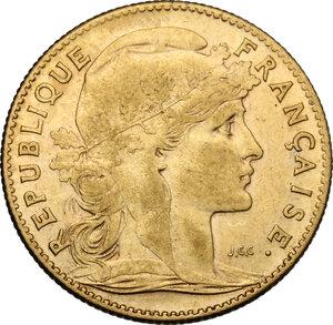 obverse: France.  Third republic (1871-1940).. 10 Francs 1907
