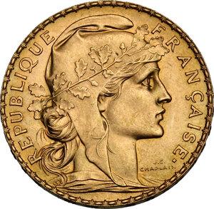 obverse: France.  Third republic (1870-1940).. 20 Francs 1912