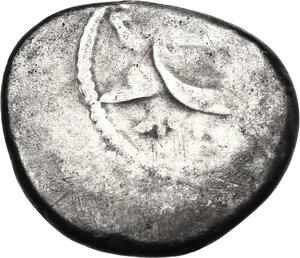 reverse: Etruria, Populonia. AR 20-Asses, 3rd century BC