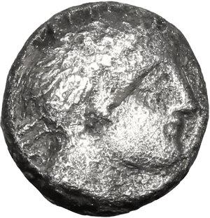 obverse: Etruria, Populonia. AR 2.5 Asses, 3rd century BC