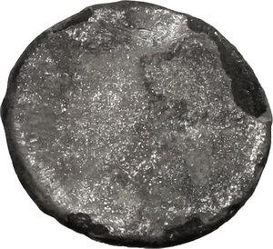 reverse: Etruria, Populonia. AR 2.5 Asses, 3rd century BC
