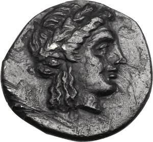 obverse: Troas, Abydos. AR Hemidrachm, Lampines magistrate, c. 320-280 BC