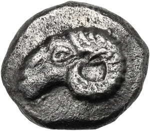 obverse: Troas, Kebren. AR Hemidrachm, late 6th - early 5th century BC