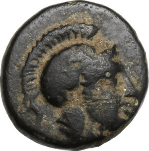 obverse: Troas, Sigeion. AE 9 mm. 4th-3rd century BC