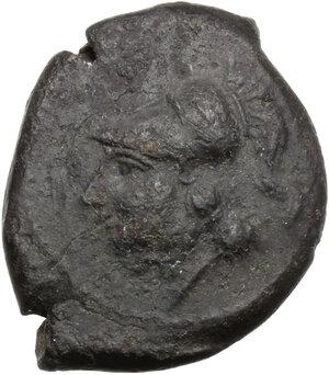 obverse: Samnium, Southern Latium and Northern Campania, Teanum Sidicinum. AE 22 mm. c. 265-240 BC