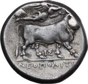 reverse: Central and Southern Campania, Neapolis. AR Didrachm, c. 275-270 BC