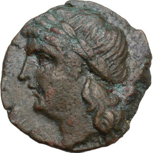 obverse: Central and Southern Campania, Neapolis. AE 18.5 mm c. 250-225