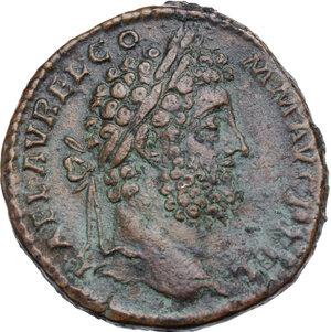 obverse: Commodus (177-192).. AE Sestertius, 191 AD