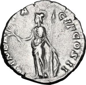 reverse: Clodius Albinus as Caesar (193-195).. AR Denarius, Rome mint