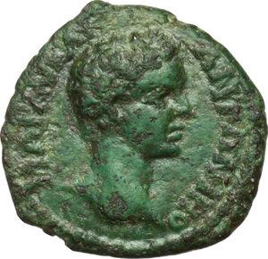 obverse: Caracalla (198-217).. AE 17 mm. Nicopolis ad Istrum, Moesia Inferior