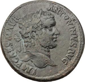 obverse: Caracalla (198-217).. AE 33 mm. Antioch mint, Pisidia